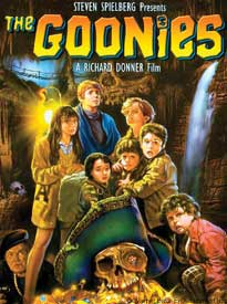 Goonies Movie Poster alternate